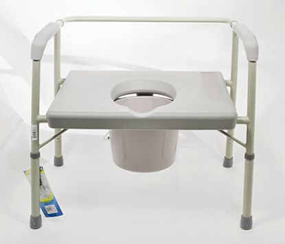 Bariatric 3 in 1 Commode - 650 Lbs Capacity
